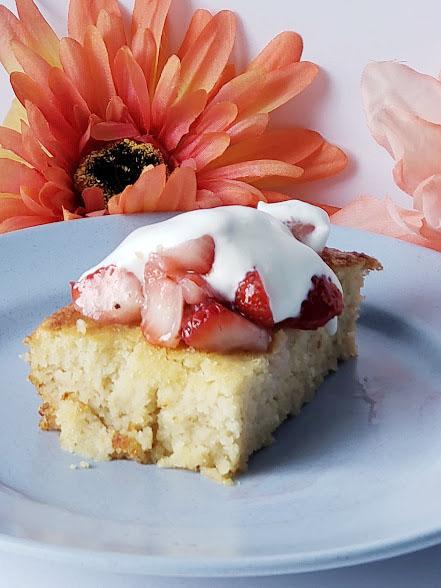 Keto Strawberry Shortcake